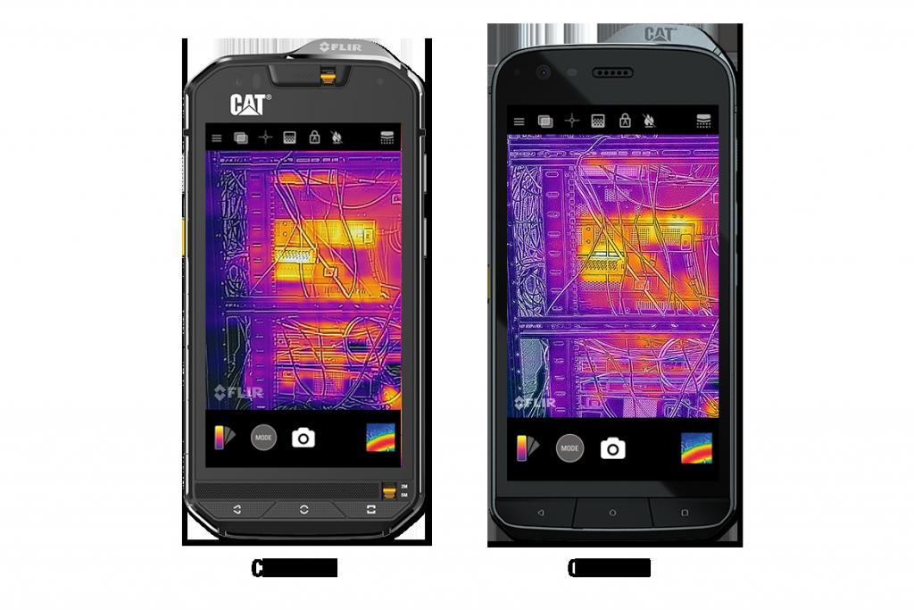 Cat S60 frente al teléfono inteligente Cat S61 | Cat phones